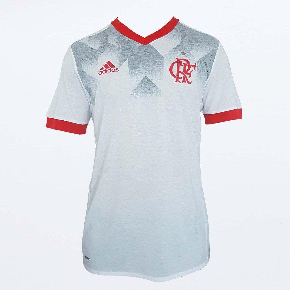 Camisa Flamengo Pré Jogo Adidas 2017 - Compre Agora  79fdd0691cd5a