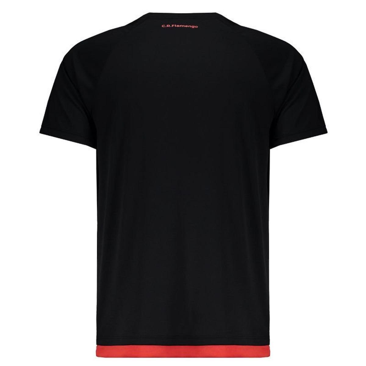 Camisa Flamengo Rally Masculina - Preto - Compre Agora  66d4253779a52