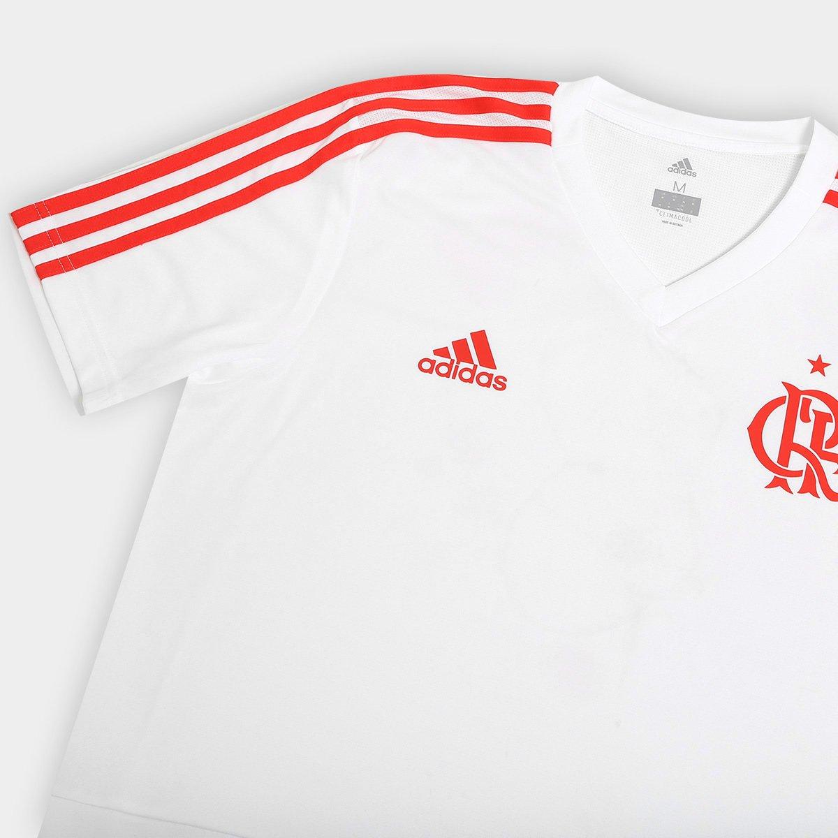 54baab078b Camisa Flamengo Treino Adidas Masculina - Branco - Compre Agora ...