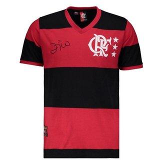 Camisa Flamengo Zico 81 Masculina