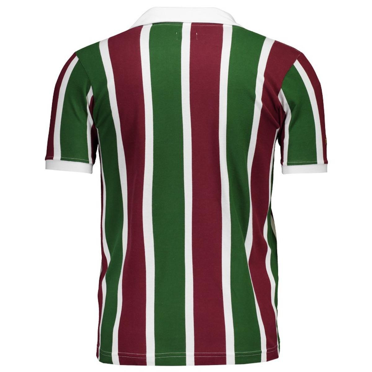 Camisa Fluminense 1910 Masculina - Vermelho - Compre Agora  b13c55f1c0570