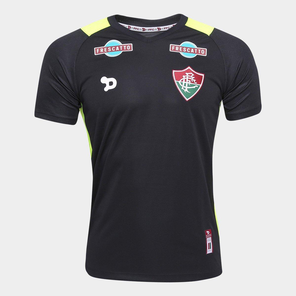 6d46aad9cc6b6 Camisa Fluminense 2016 Goleiro nº 12 - Torcedor Dryworld Masculina - Compre  Agora