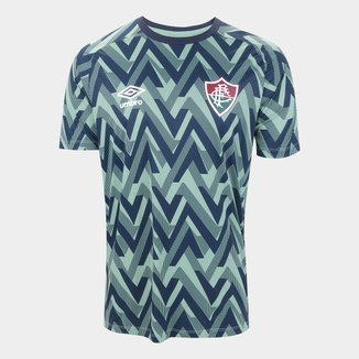 Camisa Fluminense 21/22 Aquecimento Umbro Masculina