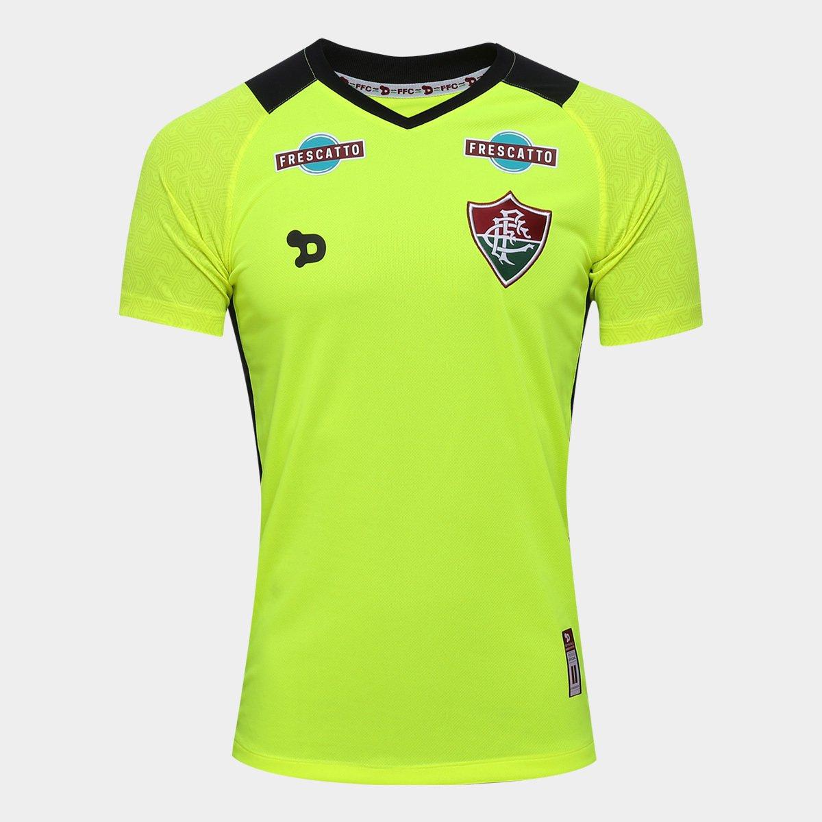 Camisa Fluminense Goleiro I 17 18 s nº Torcedor Dryworld Masculina - Compre  Agora  2565e3c8ede15