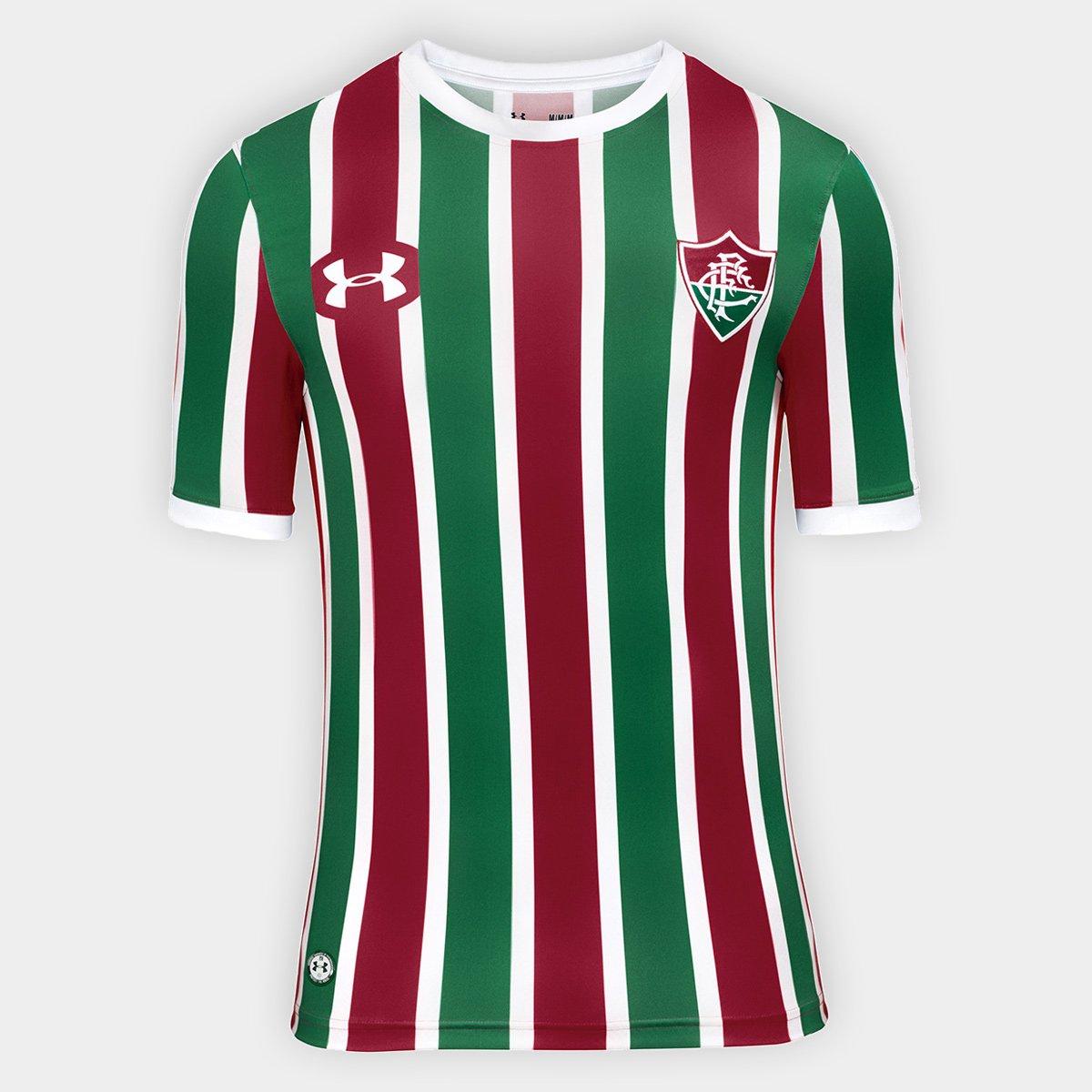 f8f6cd8cc4 ... Camisa Fluminense I 17 18 P.H. Ganso nº 10 Torcedor Under Armour  Masculina