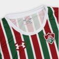 Camisa Fluminense I 17/18 s/nº Torcedor Under Armour Feminina