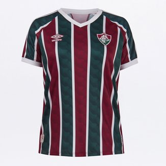 Camisa Fluminense I 20/21 s/n° Estádio Umbro Feminina