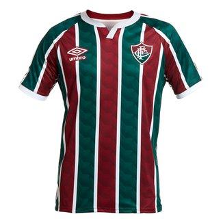 Camisa Fluminense I 20/21 s/n° Torcedor Umbro Masculina