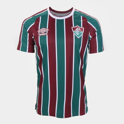 Camisa Fluminense I 21/22 s/n° Torcedor Umbro Masculina