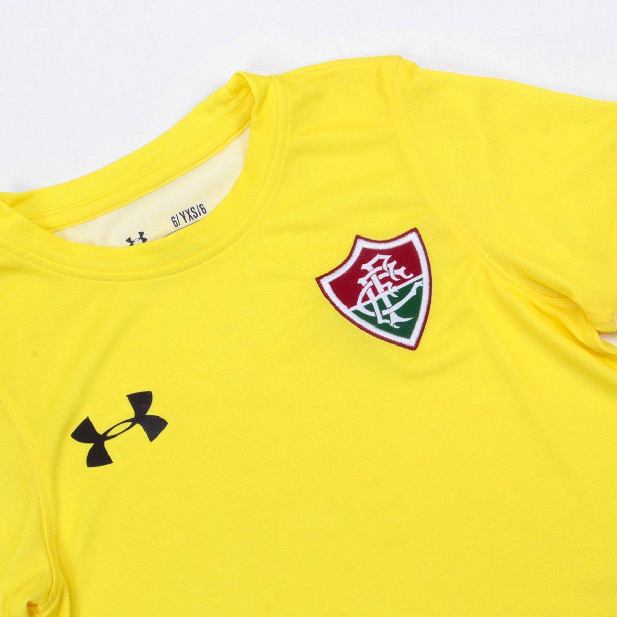 Camisa Fluminense I Infantil 17 18 s nº Torcedor Under Armour ... 25e6bd46174db