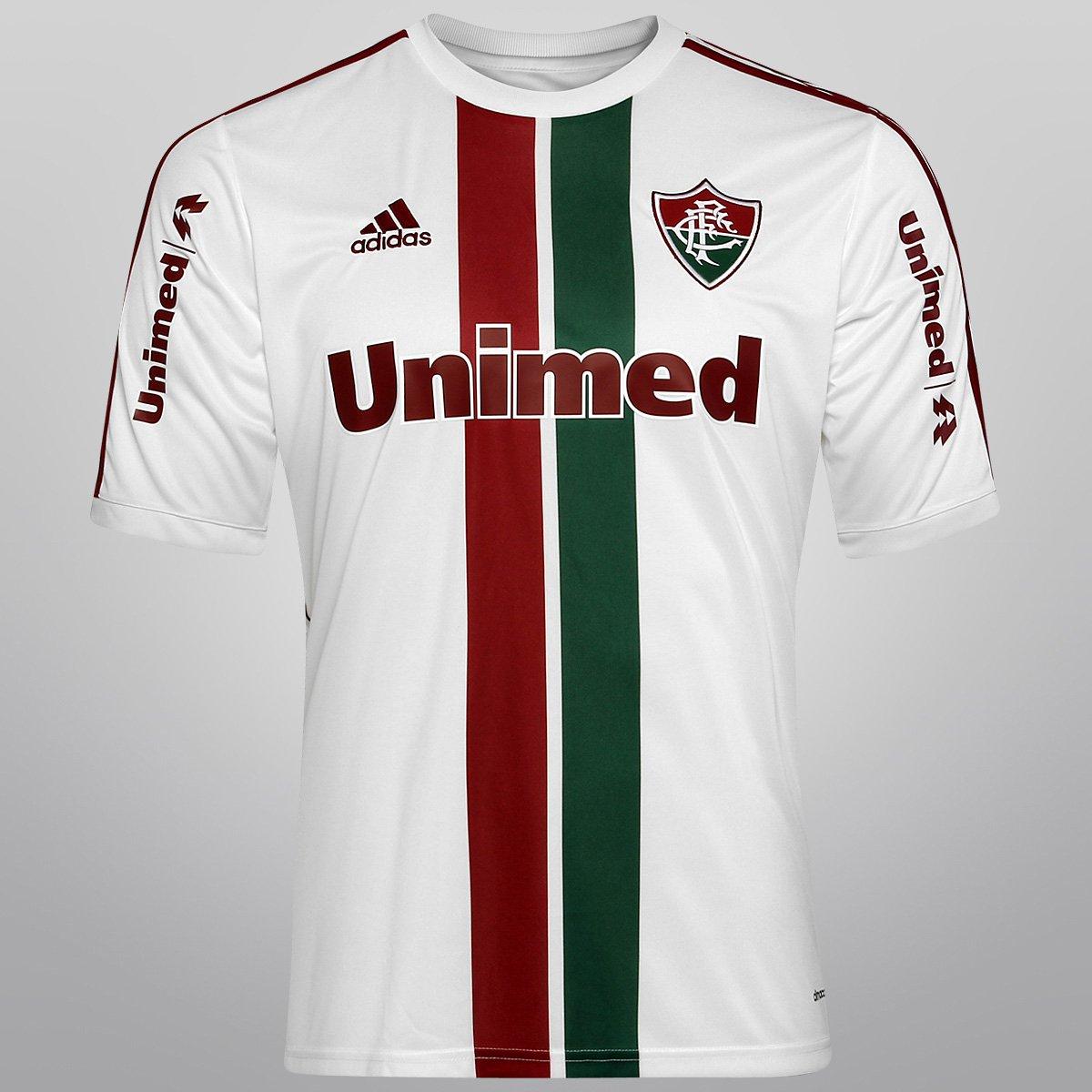 Camisa Fluminense II 14 15 s nº Torcedor Adidas Masculina - Compre Agora  ca35f5f4392ad