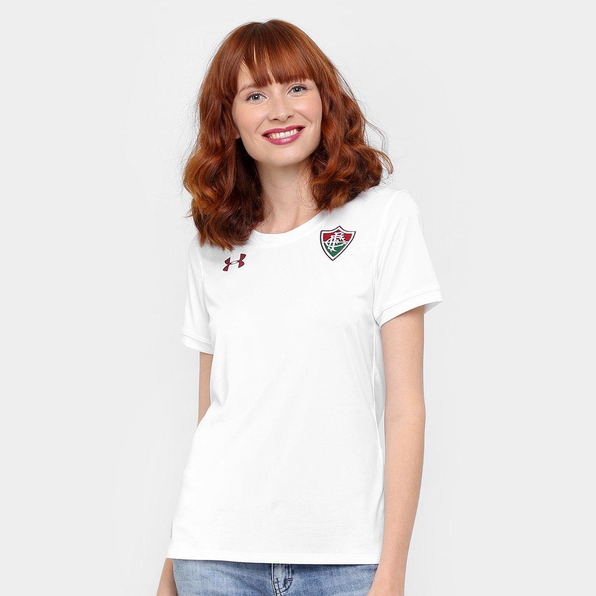 Armour Torcedor 17 18 nº II Fluminense Branco Feminina s Camisa Under qUY8E