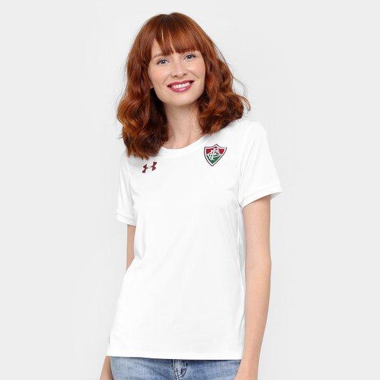Camisa Fluminense II 17/18 s/nº Torcedor Under Armour Feminina - Branco
