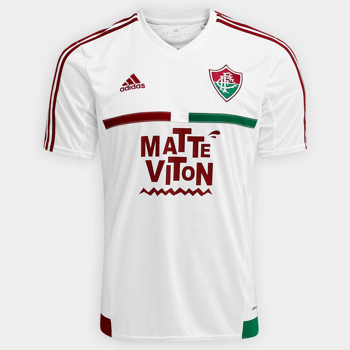 Camisa Fluminense II 2015 s nº Torcedor Adidas Masculina - Compre Agora  5463c70c01e62