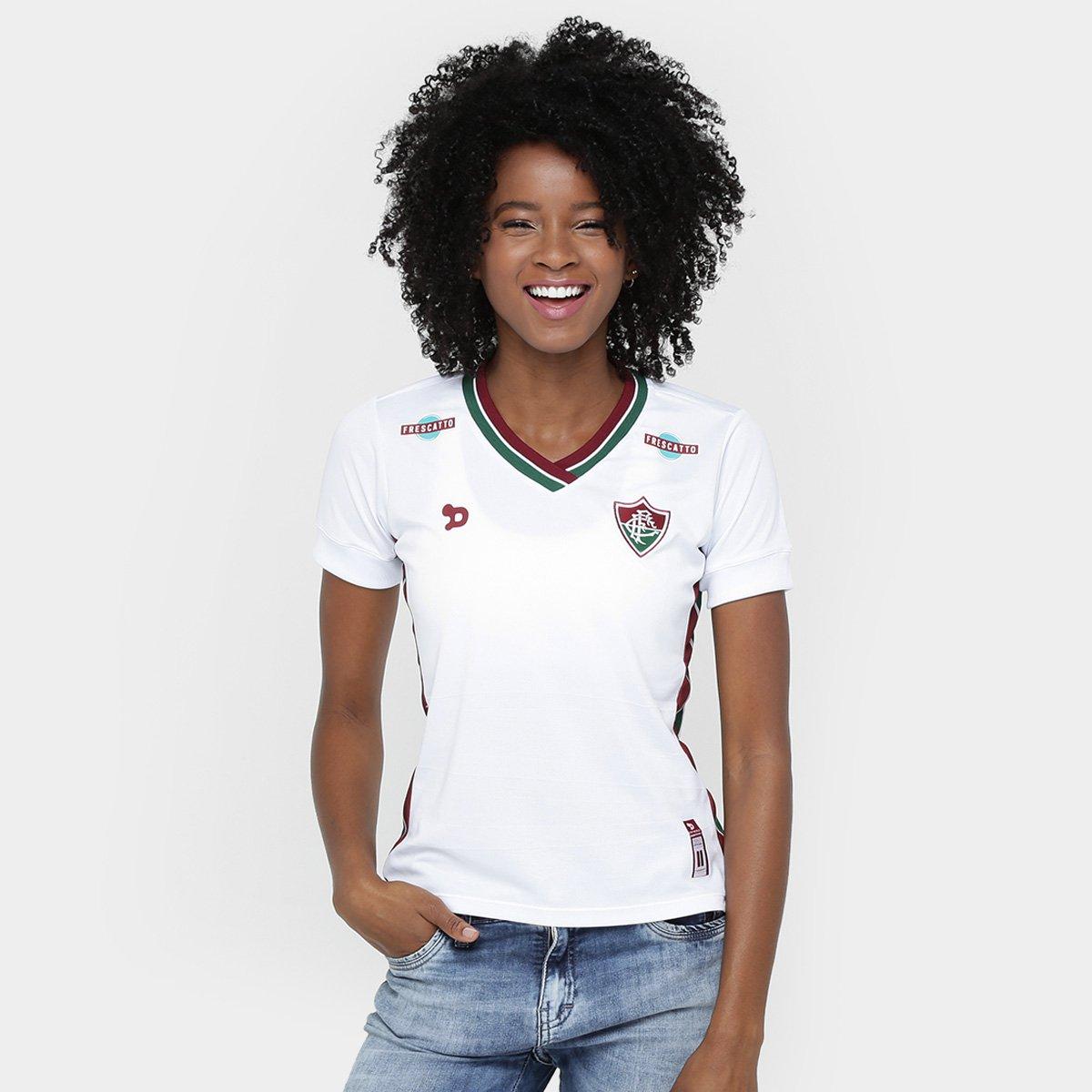 Camisa Fluminense II 2016 s nº Torcedor Dryworld Feminina - Compre Agora  176989e213160