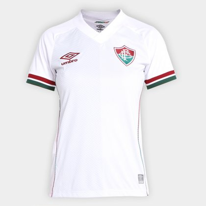 Camisa Fluminense II 21/22 s/n° Torcedor Umbro Feminina