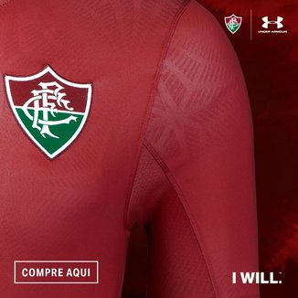 Camisa Fluminense III 17/18 s/nº - Jogador Under Armour Masculina