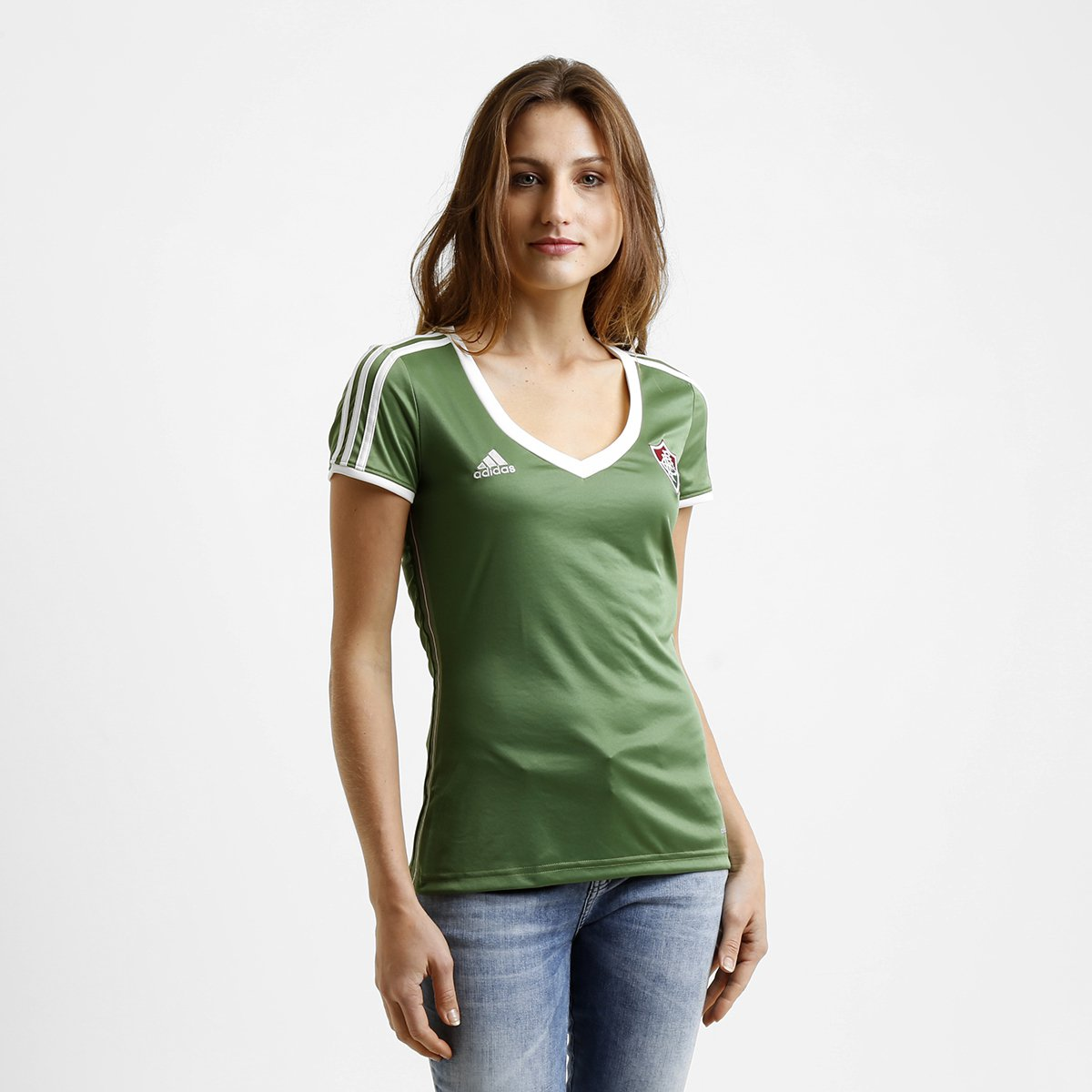 Camisa Fluminense III 2015 s nº Torcedor Adidas Feminina - Compre Agora  4202846a98086