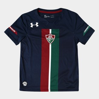 Camisa Fluminense Infantil III 19/20 s/n° Torcedor Under Armour