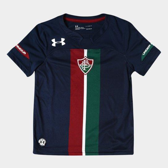 Camisa Fluminense Infantil III 19/20 s/n° Torcedor Under Armour - Marinho