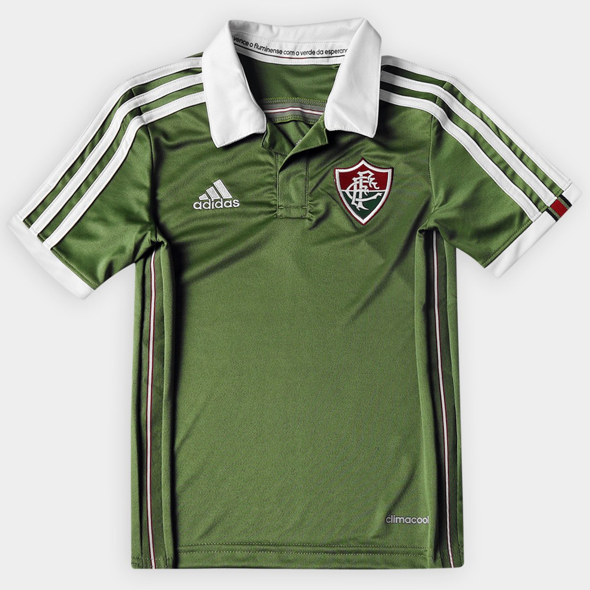 Camisa Fluminense Infantil III 2015 s nº Torcedor Adidas - Compre Agora  ed2cfe8bcd12f