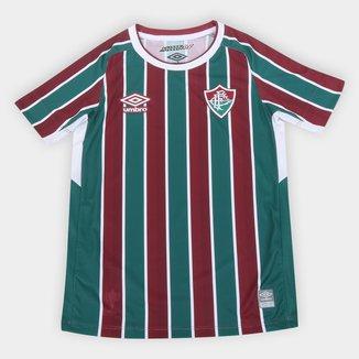 Camisa Fluminense Juvenil I 21/22 s/n° Torcedor Umbro