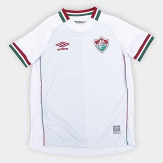 Camisa Fluminense Juvenil II 21/22 s/n° Torcedor Umbro