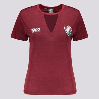 Camisa Fluminense Pilus Feminina Bordô