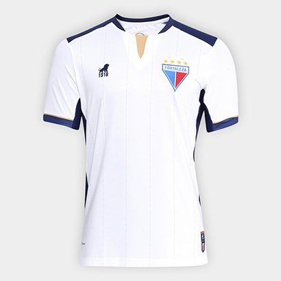 A fervorosa torcida do Fortaleza Esporte Clube vai se encantar Camisa  Fortaleza II n° 18 11635ce41a8f6