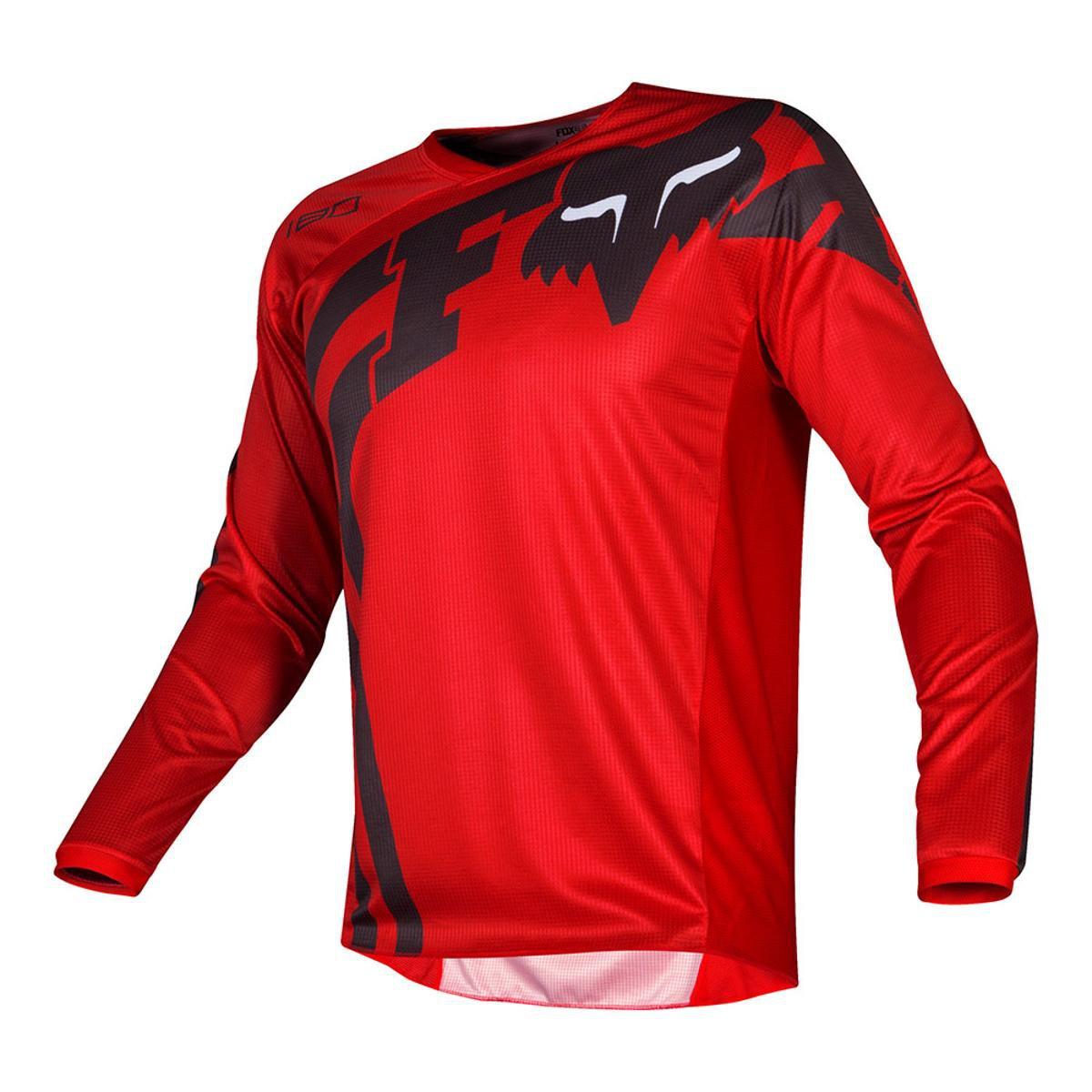 Camisa Fox 180 Cota Masculina - Vermelho - Compre Agora  06b1ac94d06