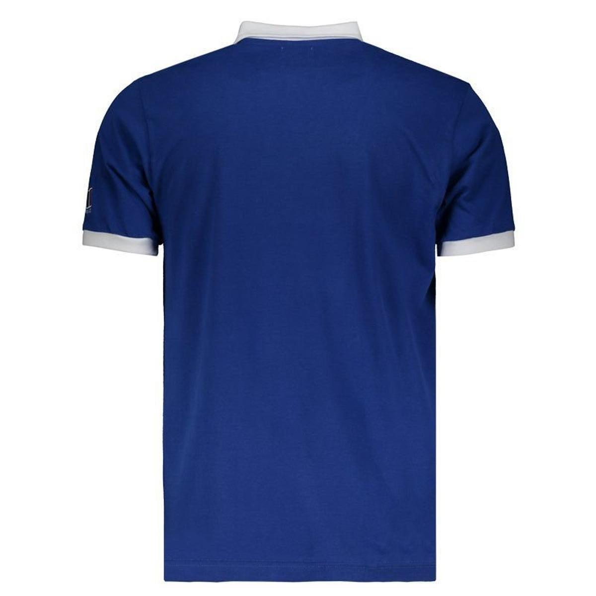 Camisa França Retrô Rugby Masculina - Azul - Compre Agora  3e72d5e992b1f