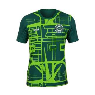 Camisa Goiás 2021-2022 Oficial Pré Jogo Treino Aquecimento