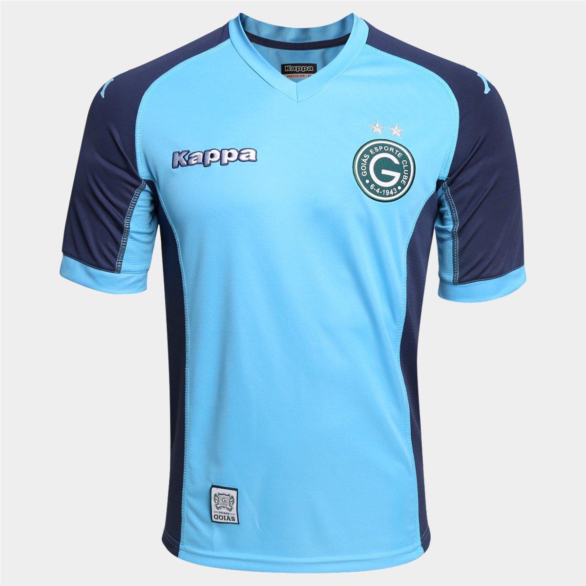 ad2626ae40 Camisa Goiás Goleiro 2015 s nº - Torcedor Kappa Masculina - Compre Agora