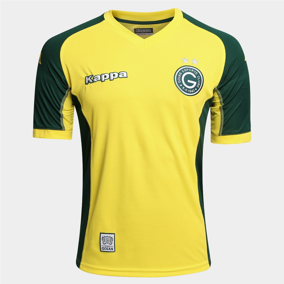 Camisa Goiás Goleiro 2015 s nº - Torcedor Kappa Masculina - Compre Agora  0af84a476df3f