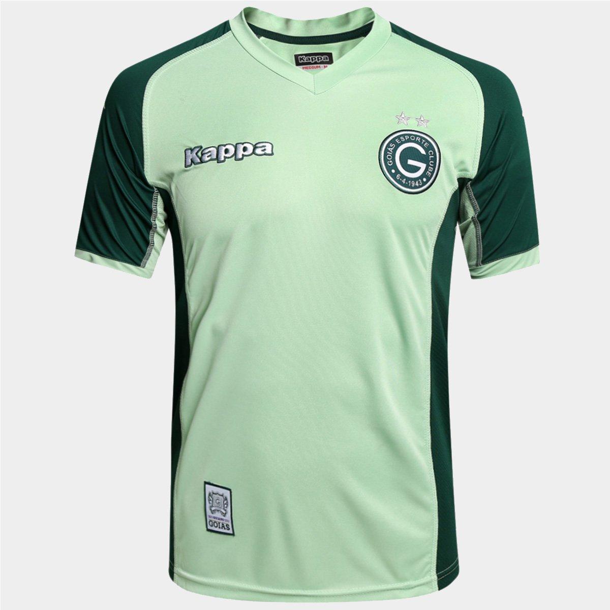 95539d49787ab Camisa Goiás Goleiro 2015 s nº Torcedor Kappa Masculina - Compre Agora
