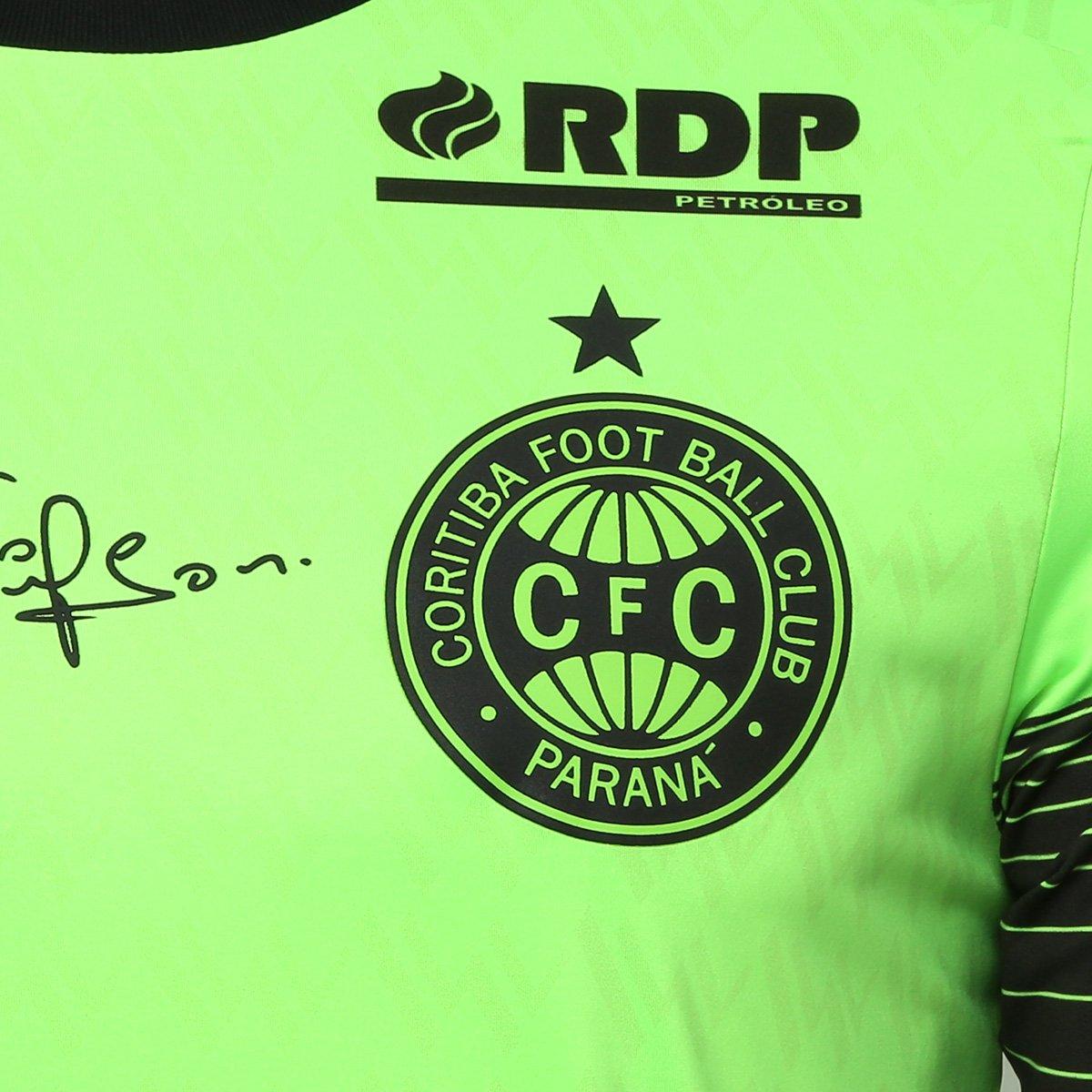 e1ee6821cc ... Camisa Goleiro Coritiba 2018 s n° c  Patrocínio - Jogador 1909 Masculina  ...