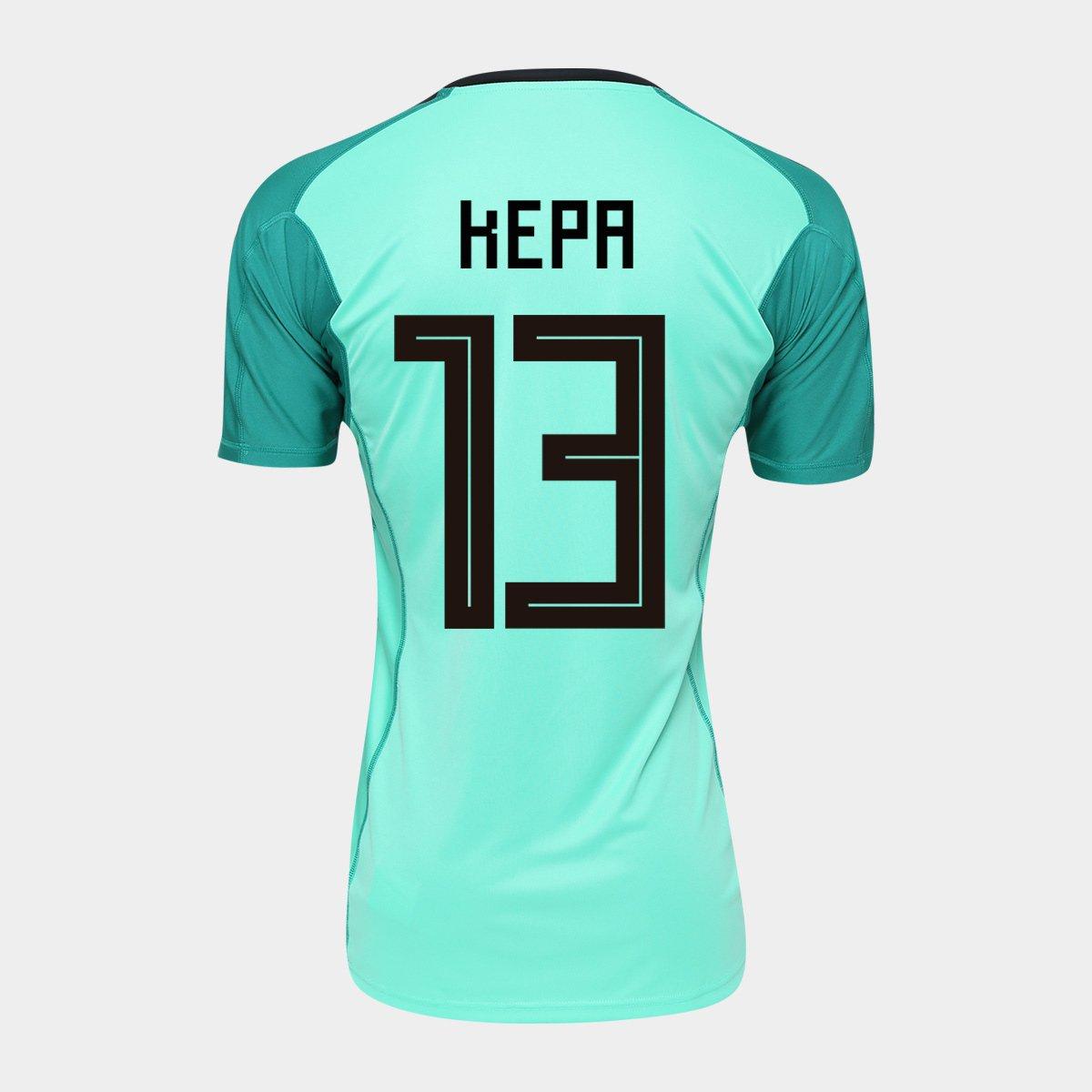 524f6060dc Camisa Goleiro Seleção Espanha Home 2018 n° 13 Kepa - Torcedor Adidas  Masculina - Compre Agora