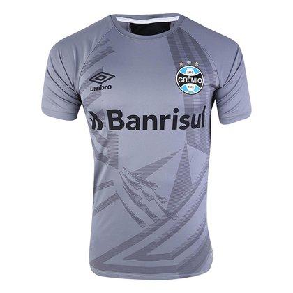 Camisa Grêmio 2021 Goleiro Cinza Oficial Umbro