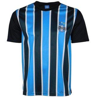 Camisa Grêmio 2021 Treino Casual Tricolor