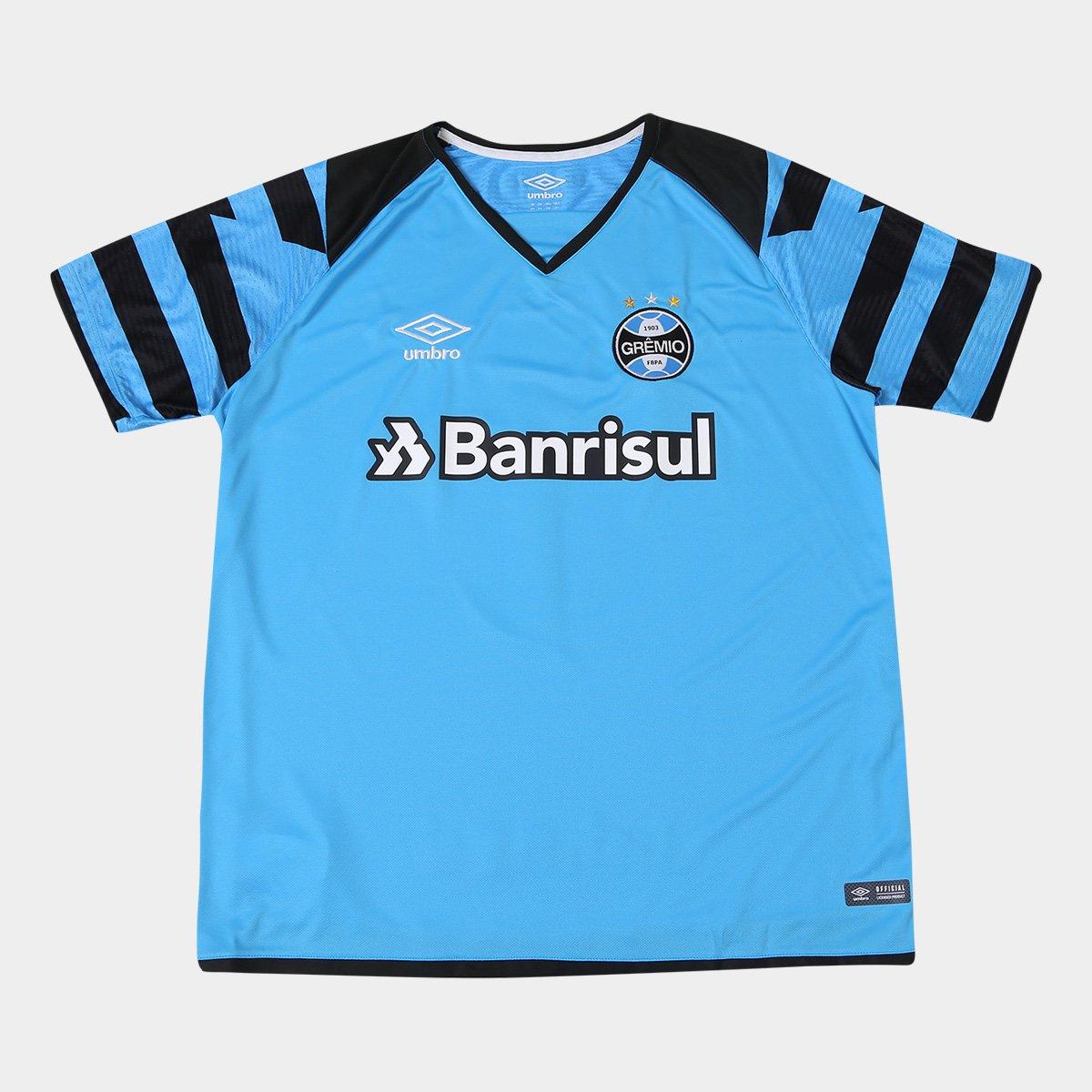 e2aad1f0d Camisa Grêmio Goleiro 17 18 nº 1 - Torcedor Umbro Masculina - Compre Agora