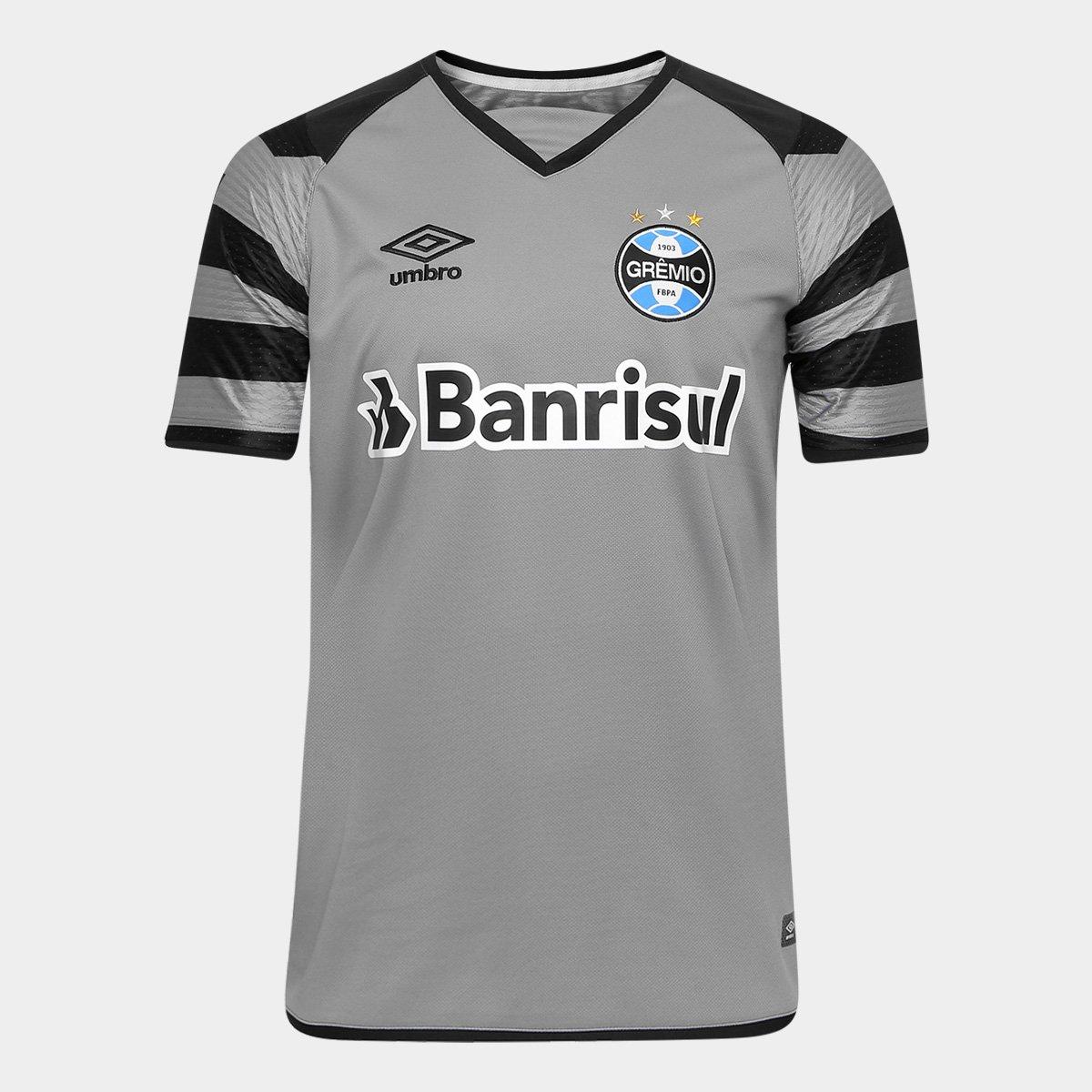 Camisa Grêmio Goleiro 17 18 nº 1 - Torcedor Umbro Masculina - Compre Agora   e4021895d15c2