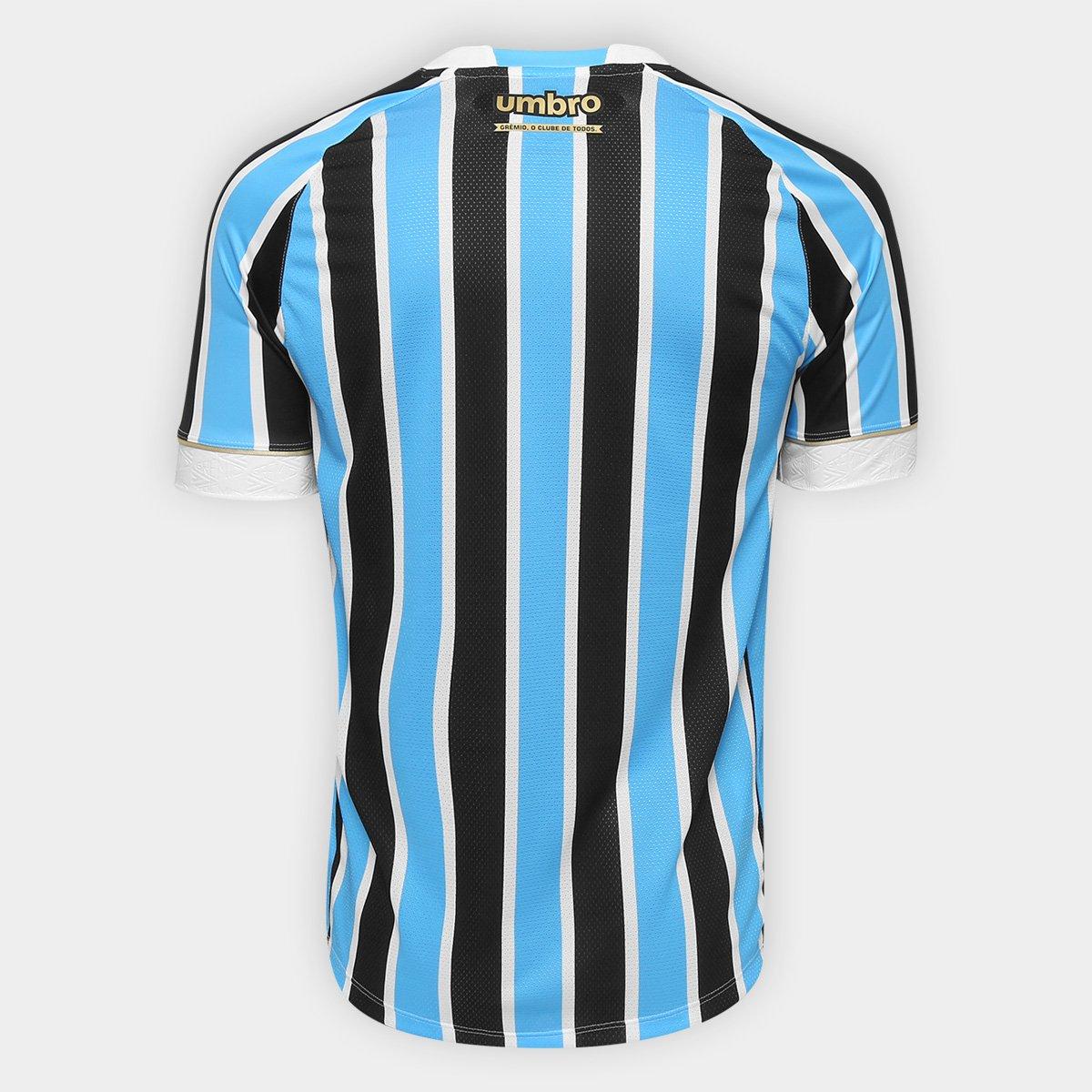 ... Camisa Grêmio I 18 19 s n° Torcedor Umbro - Patch Campeão Libertadores  ... 9c9a5c4237ca8