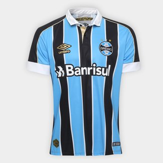 Camisa Grêmio I 19/20 s/nº Torcedor Umbro Masculino
