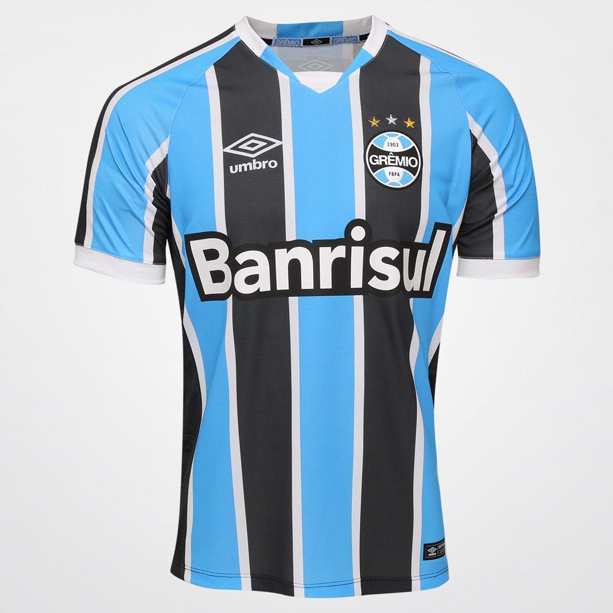Camisa Grêmio I 2016 s nº Torcedor Umbro Masculina - Compre Agora ... 296d52a883c91