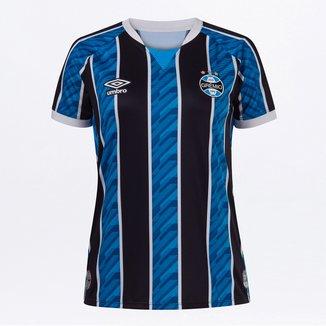 Camisa Grêmio I 20/21 s/n° Torcedor Umbro Feminina