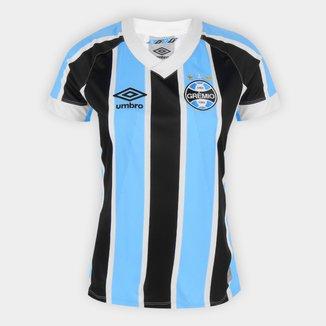 Camisa Grêmio I 21/22 s/n° Torcedor Umbro Feminina