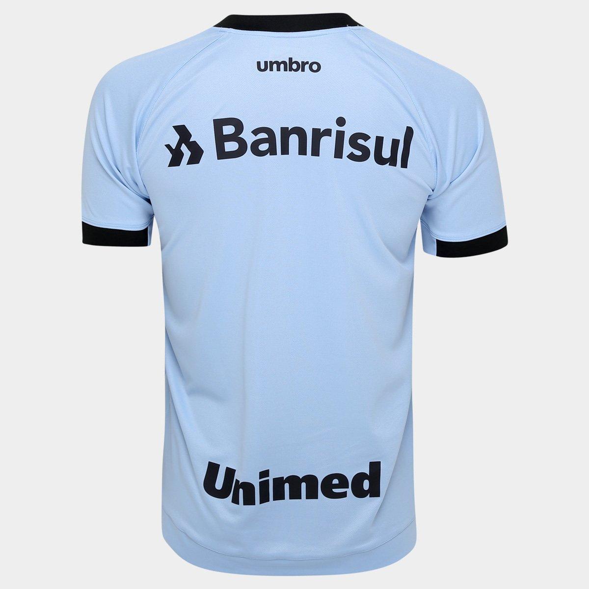 Camisa Grêmio II 17 18 s nº Torcedor Umbro Masculina - Azul Claro ... c6ac2a3aa9188