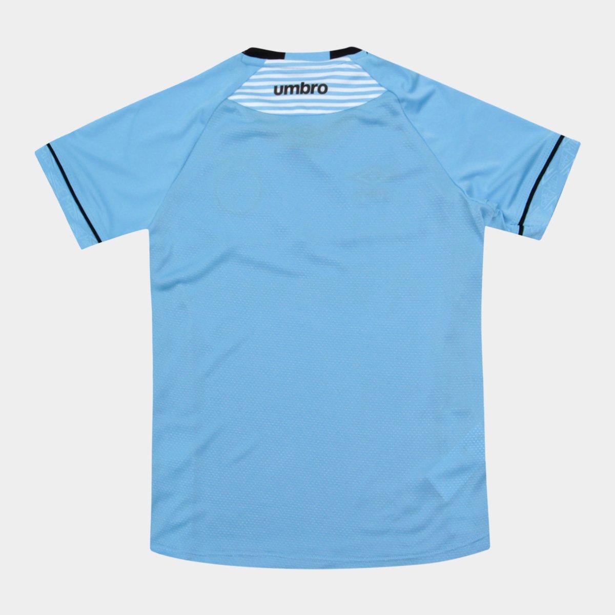 Camisa Gremio II Infantil 2018 s n° - Charrua Torcedor Umbro - Azul ... 5488336855533