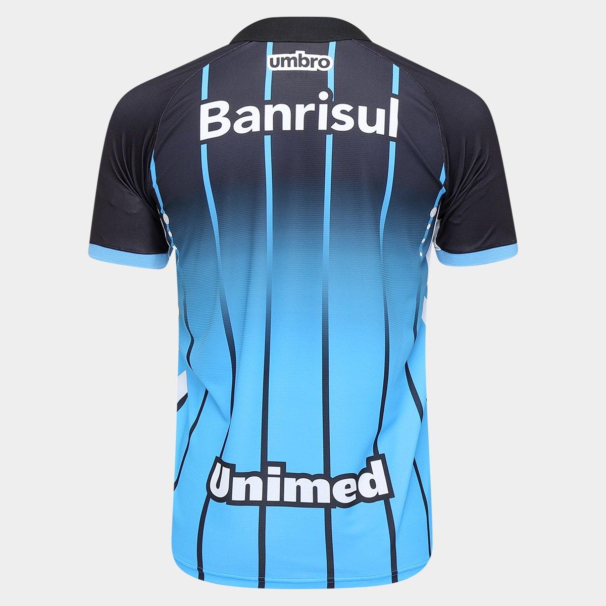 Camisa Grêmio III 2016 s nº Torcedor Umbro Masculina - Compre Agora ... 0e946dc341b11
