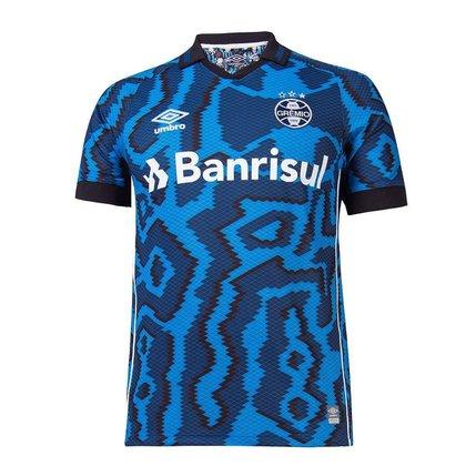 Camisa Grêmio III 21/22 s/n° Torcedor Umbro Masc 1021076-173